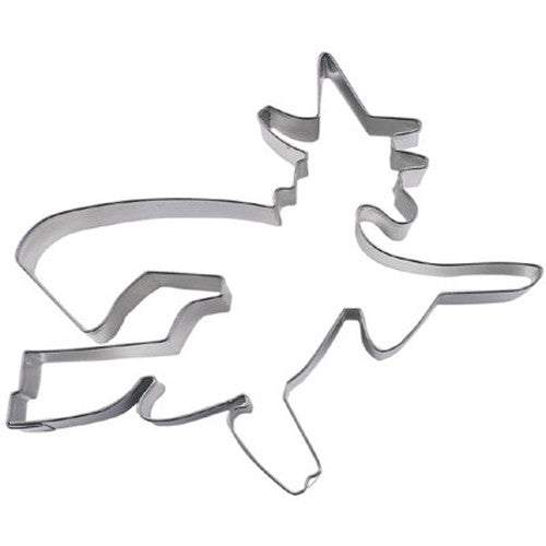 Witch 9cm Cookie Cutter-Cookie Cutter Shop Australia