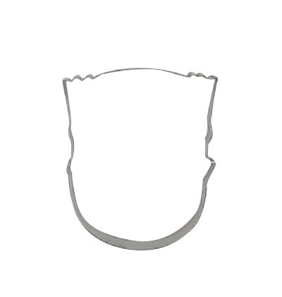 Head With Flat Top Hair 9cm Cookie Cutter-Cookie Cutter Shop Australia