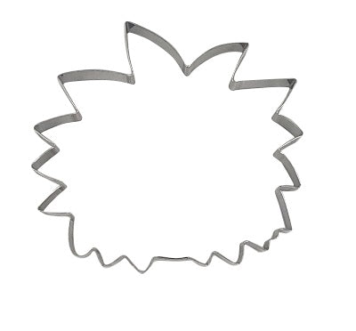 Head With Spikey Hair Or Lion Face 9.5cm Cookie Cutter-Cookie Cutter Shop Australia