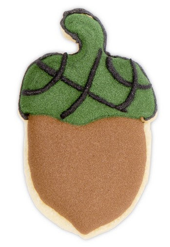 Acorn Cookie Cutter with Internal Detail 5.5 cm