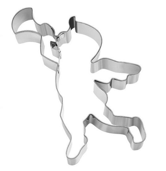 Angel with Trumpet Cookie Cutter with Internal Detail 17cm | Cookie Cutter Shop Australia