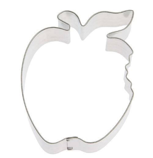 Apple with Bite Cookie Cutter 10cm