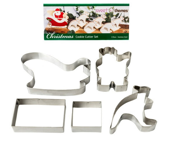 Australian Bush Christmas Cookie Cutter Set