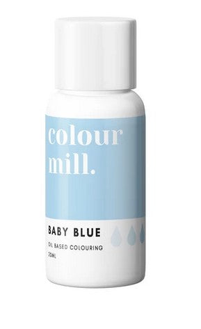 Baby Blue Oil Based Colouring 20ml