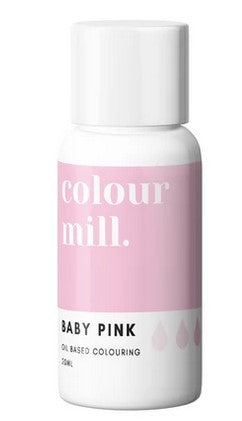Oil Based Colouring 20ml Baby Pink