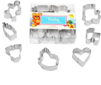 Baby Cookie Cutter Set Boxed Mini's 7 Piece | Cookie Cutter Set Australia