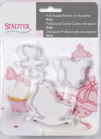 Baby Fondant Cutter Set of 3 | Cookie Cutter Shop Australia