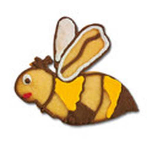 Bee 7cm with Embossed Detail Cookie Cutter-Cookie Cutter Shop Australia