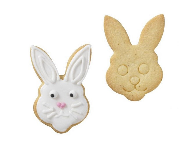 Rabbit Face Cookie Cutter with Internal Detail | Cookie Cutter Shop Australia