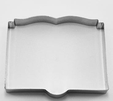 Open Book Cookie Cutter 7.5cm | Cookie Cutter Shop Australia