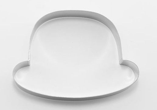Bowler Hat Cookie Cutter 11cm x 8cm | Cookie Cutter Shop Australia