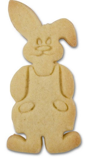 Boy Bunny with Embossed Detail