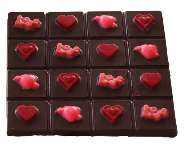 Valentine Chocolate Mould 'Break Bar'
