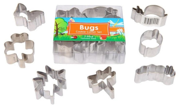 Bugs Cookie Cutter Set Mini's 7 Pieces
