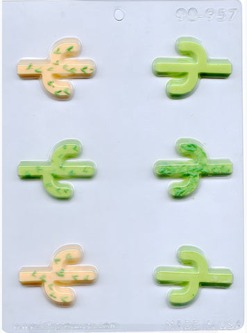 Cactus Chocolate Mould | Cookie Cutter Shop Australia