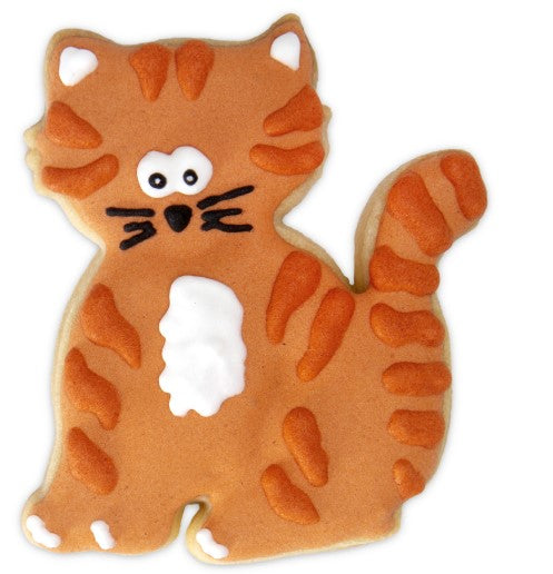 Cat Cookie Cutter Stamp and Ejector 6cm | Cookie Cutter Shop Australia