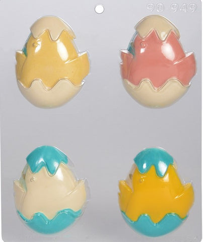Egg with Chick Chocolate Mould