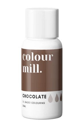 Colour Mill Chocolate Oil Based Colouring 20ml | Cookie cutter Shop Australia