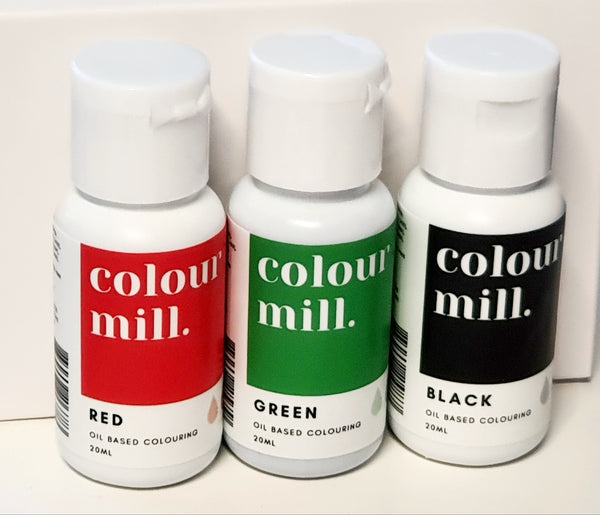 Colour Mill Christmas Pack 3 Colours 20ml Bottles