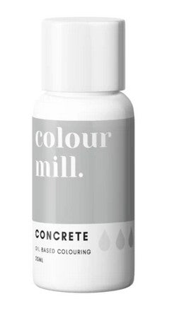 Oil Based Colouring 20ml Concrete