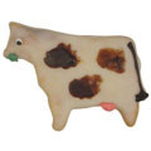 Cow Stainless Steel 6cm Cookie Cutter-Cookie Cutter Shop Australia