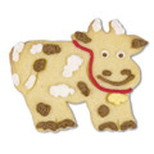 Cow with Embossed 7cm Detail Cookie Cutter-Cookie Cutter Shop Australia