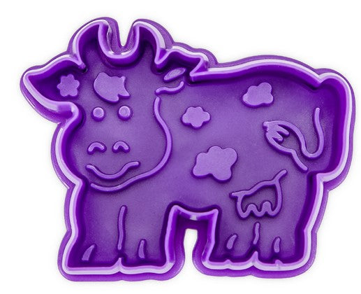Cow Cookie Cutter with Stamp and Ejector  | Cookie Cutter Shop Australia