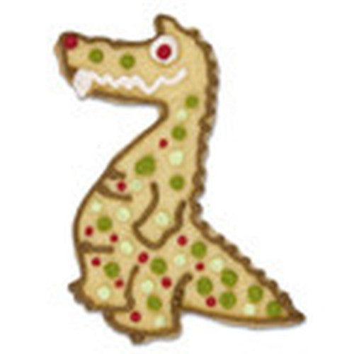 Crocodile Standing with Embossed Details Cookie Cutter-Cookie Cutter Shop Australia