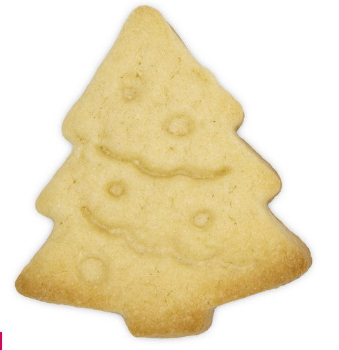 Christmas Tree Cookie Cutter Stamp with Ejector