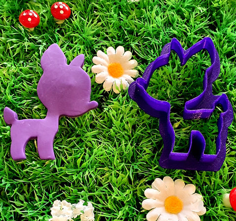Cute Deer Cookie Cutter 7cm | Cookie Cutter Shop Australia