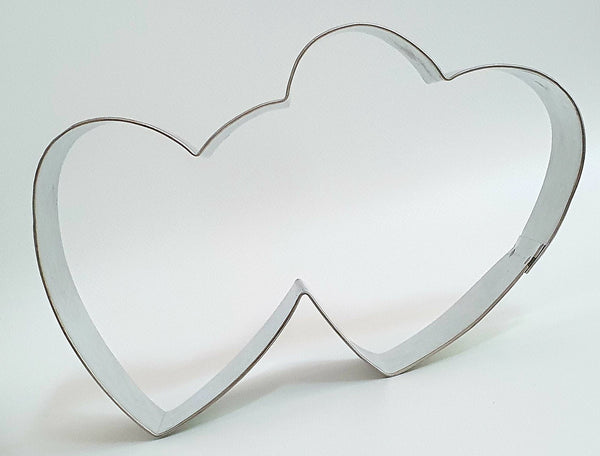 Double Heart Cookie Cutter 13.5cm