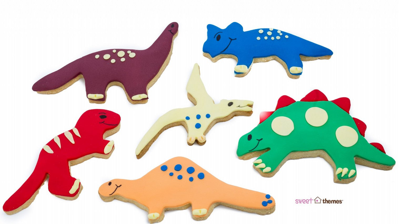 Dinosaur Cookie Cutter Set 6 Pieces