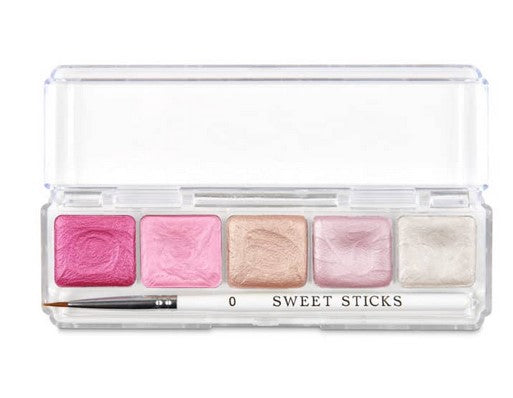 Sweet Sticks - Edible Art Water Activated Paint- Doll House Palette