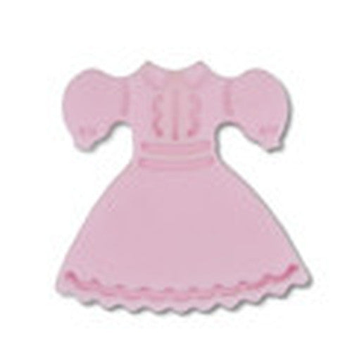 Dress Plastic Embossed 5cm Cookie Cutter-Cookie Cutter Shop Australia