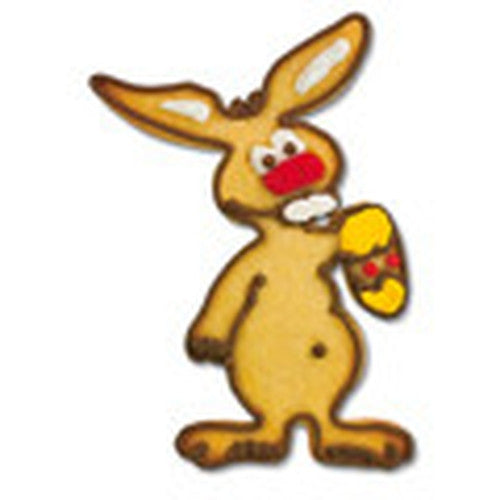Easter Bunny with Egg 10cm Cookie Cutter-Cookie Cutter Shop Australia