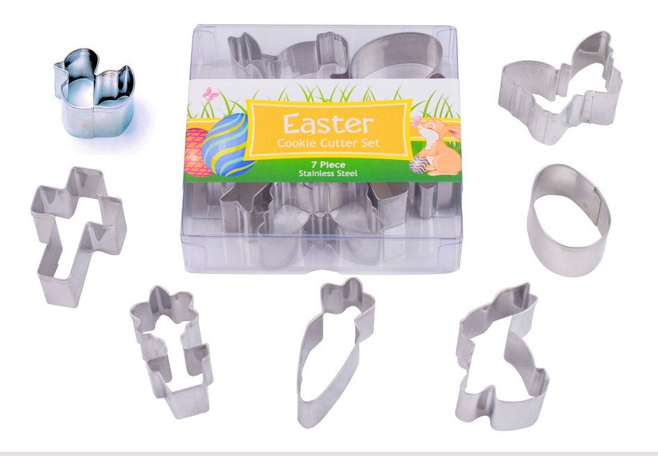 Easter Cookie Cutter Set Mini 7 Piece