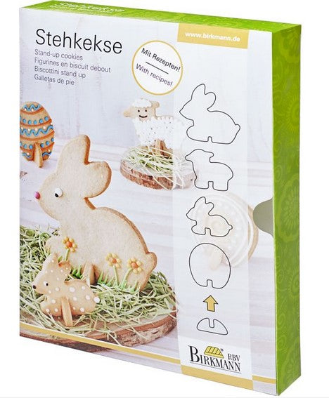 Easter Cookie Cutter Set 3D 5 Pieces
