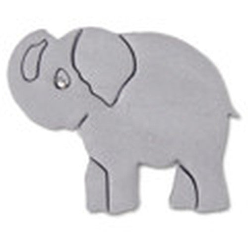 Elephant 7cm with Embossed Detail Cookie Cutter-Cookie Cutter Shop Australia