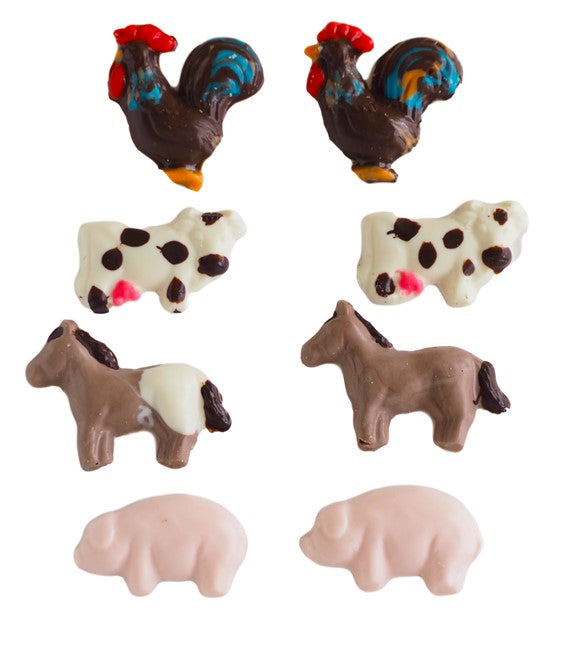 Farm Animal Assortment Chocolate Mould