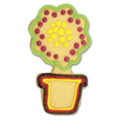Flower Pot Cookie Cutter-Cookie Cutter Shop Australia