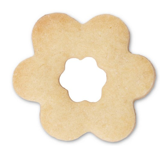 Double Flower 4.5cm Cookie Cutter