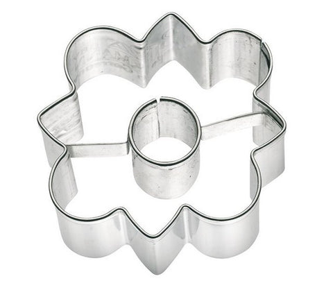 Flower Cookie Cutter Stella with Internal detail 4.5cm | Cookie cutter shop Australia