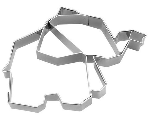 Geometric Elephant Cookie Cutter