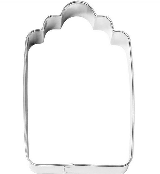 Gift Tag Cookie Cutter 8.5cm | Cookie Cutter Shop Australia