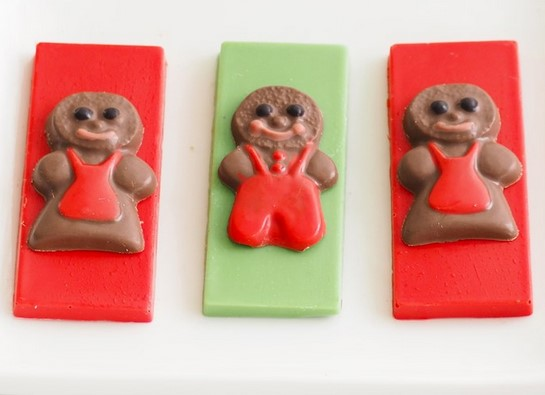 Gingerbread People 5cm Chocolate Mould | Cookie Cutter Shop Australia