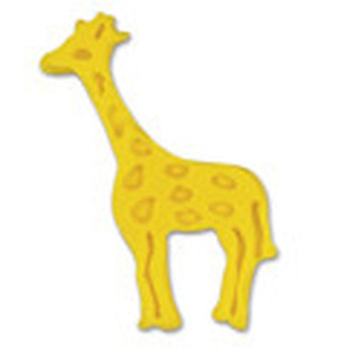 Giraffe Plastic Embossed 6cm Cookie Cutter-Cookie Cutter Shop Australia