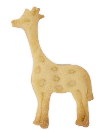 Giraffe Plastic Embossed 6cm Cookie Cutter