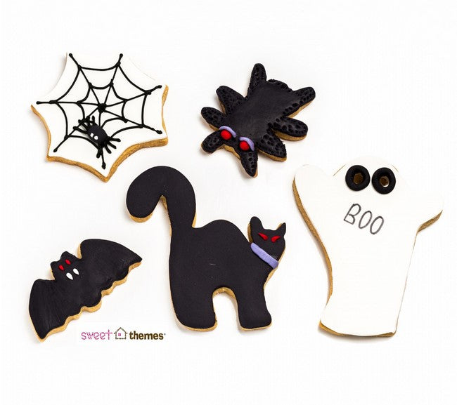 Halloween Set of 5 Cookie Cutters 3-11cm