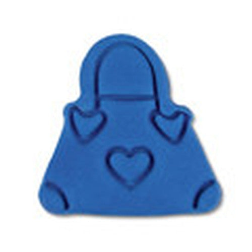 Handbag Plastic Embossed 5cm Cookie Cutter-Cookie Cutter Shop Australia