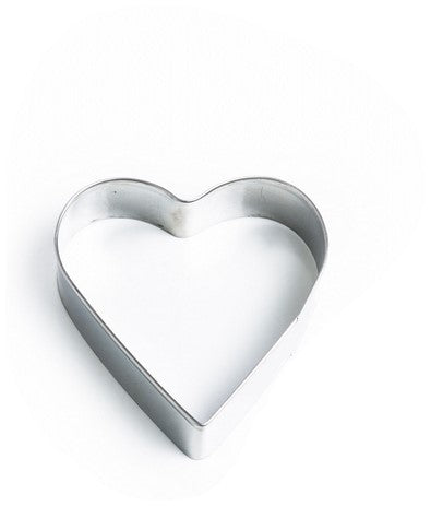 Heart Cookie Cutter 7cm Stainless Steel